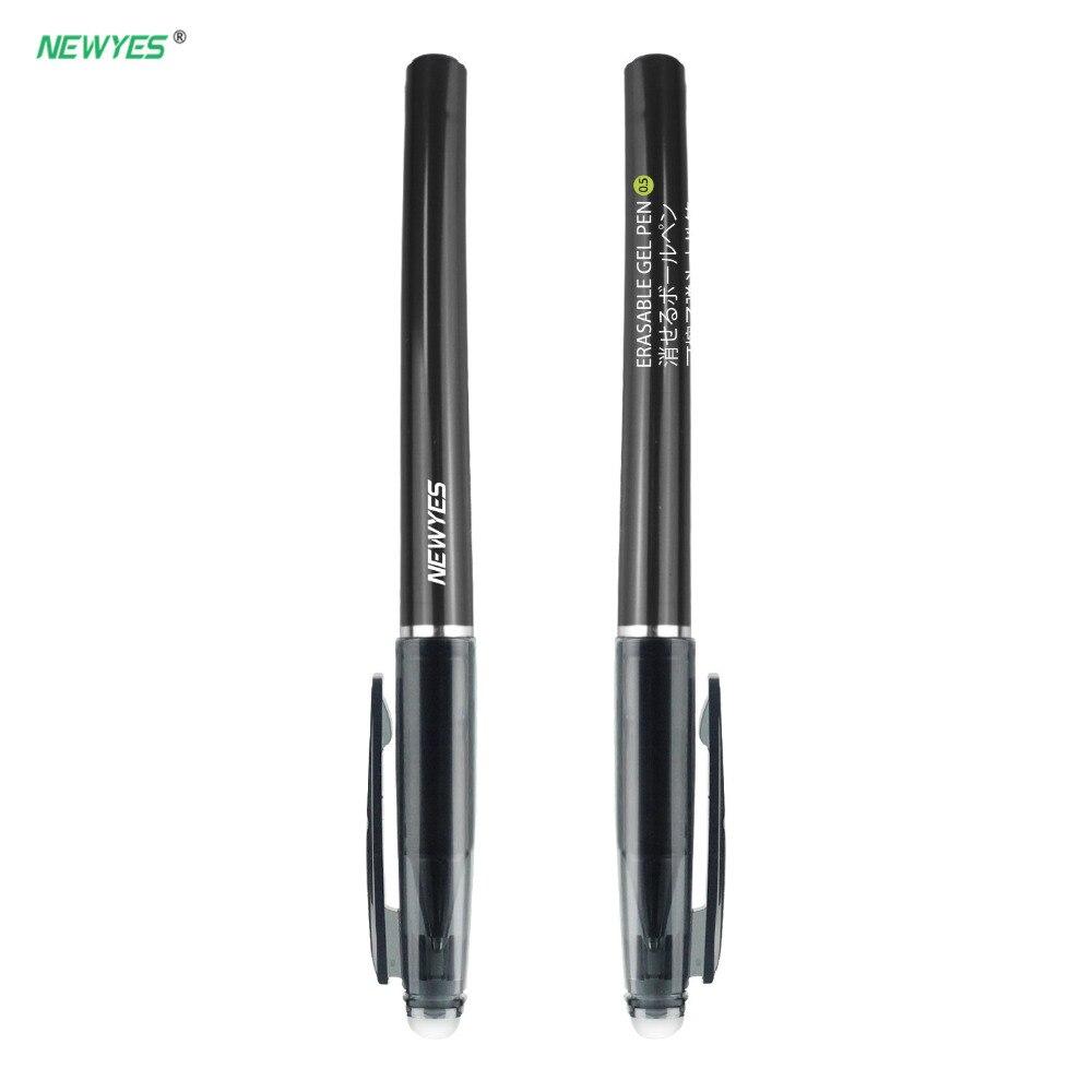2020 Original, Smart, reutilizable, borrable, bolígrafos para portátil, Extra fino, suave, 0,5mm, Gel negro, recarga de tinta roja, regalo para niños, suministros de oficina