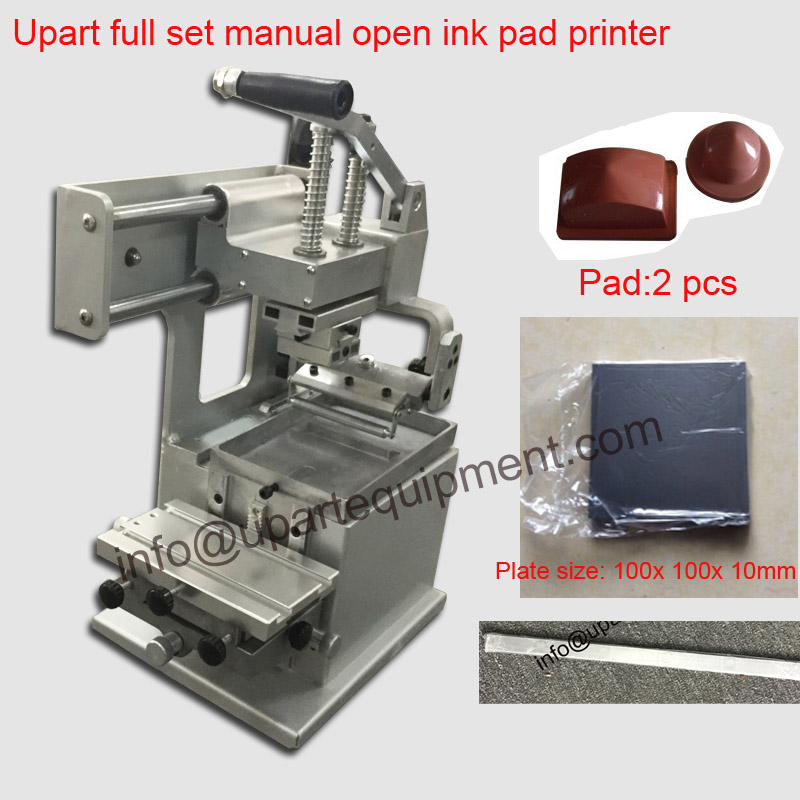 manual pad printing machine with pads and doctor balde cheap price manual watch dial pad printing machine