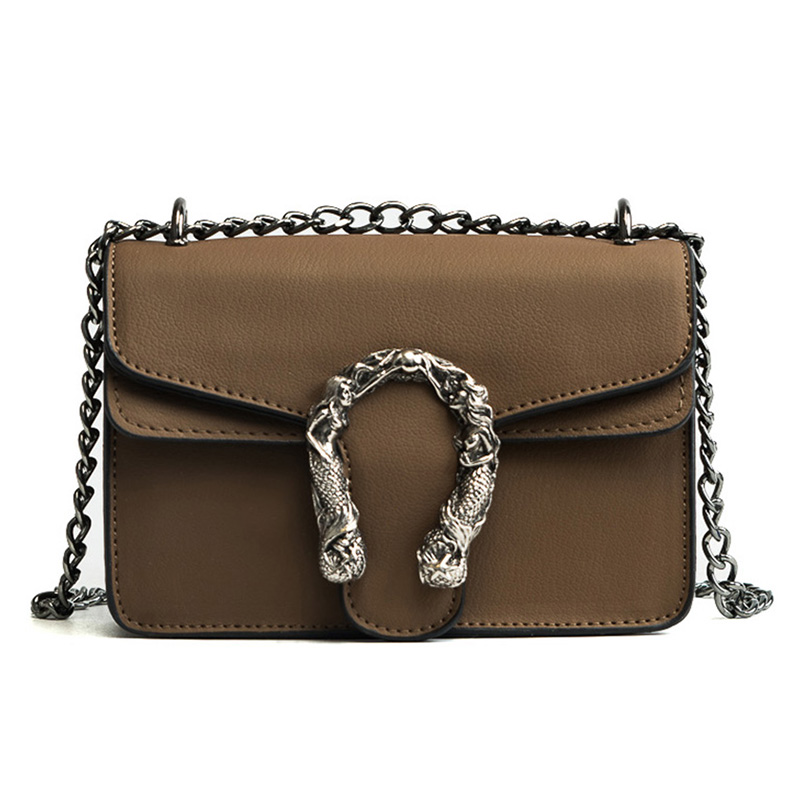 2018 Chains Women Shoulder Bags Small Black Fashion Women Bags Candlelight Leather Small Flap Bags Diagonal Lady Girls Handbags 5