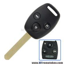 Дистанционного Глава Ключ Автомобиля VDO 72147-TAO-W2 433 МГц HON66 3 Кнопка для Honda Accord 2008 2009 2010 2011 remtekey