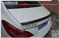 stock Fit for BENZ CLS W218 CLS300/35 AMG carbon fiber rear spoiler