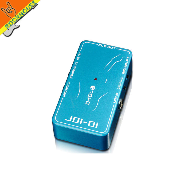 ФОТО JOYO DI Box Passive Direct Injection Box Guitar Effects Pedal Unbalanced to Balanced signal output to Sound System Free Shipping