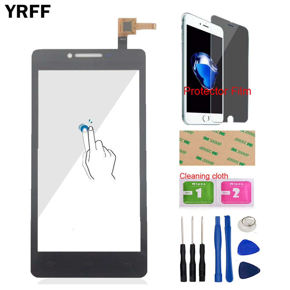 Mobile Lens Sensor Front For Prestigio MultiPhone PAP5500 PAP 5500 DUO Touch Screen Digitizer Panel Glass Tools Protecotr Film