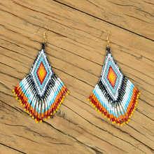 Go2boho Fringed Earrings Bohemian For Women Delica MIYUKI Earring Chic Boho 2019 Handwoven Summer Jewelry Party Aretes