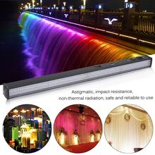Portable Wall Wash Bar Light 252 LED RGB Wash Strobe Lamp DJ Club Party Light Disco Stage Show Display Effect Lamp(China)