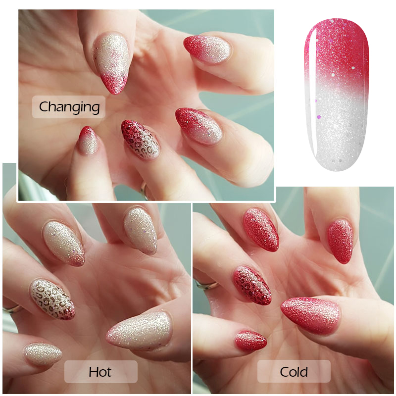 Azure Beauty Temperature Change Color Uv Gel Nail Polish Lacquer Long Lasting Soak Off For Manicure In From Health On