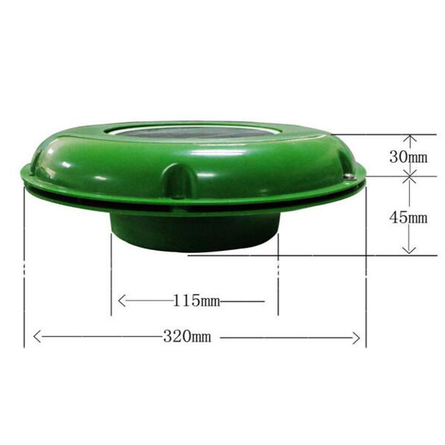 Image 5 - SOLAR VENT FAN AUTOMATIC VENTILATOR USED FOR CARAVANS BOATS GREEN HOUSE BATHROOM-in Air Conditioner Parts from Home Appliances