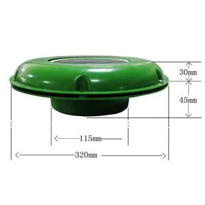 Image 5 - Wentylator słoneczny automatyczny wentylator używany do przyczep kempingowych zielony dom łazienka