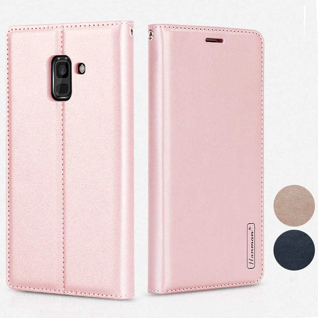 newest collection 664ba e49c7 US $6.99 |Flip cover for Samsung Galaxy A8+ SM A730F A8 Plus SM A730F/DS  A8+ 2018 A8 Plus 2018 Leather Wallet phone case coque funda -in Wallet  Cases ...
