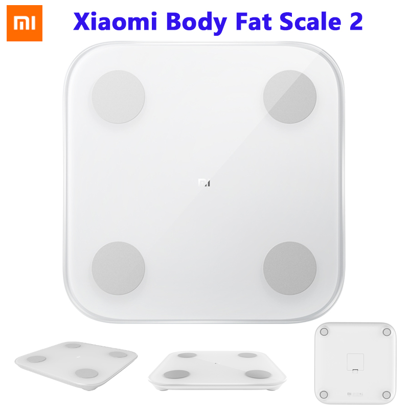 Original Xiaomi MI Smart Composition Body Fat Scale 2 Bluetooth 5 0 Balance Test 13 Body