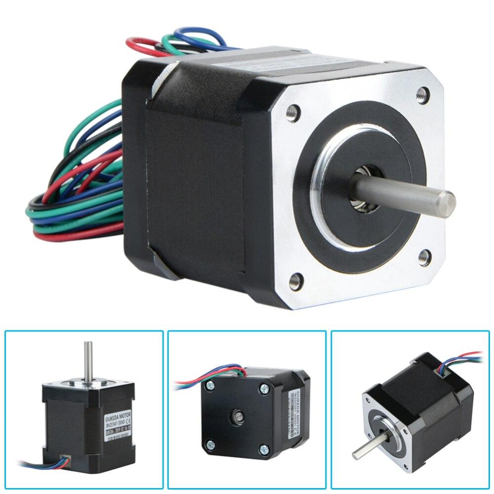 Nema 17 Stepper Motor 59Ncm 48mm Body 2A Connector for DIY CNC 3D Printer CNC And robotics applications 1