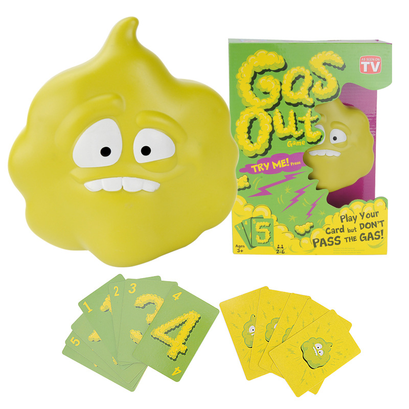 Gas Out Toy Gag Joke Funny Gas Out Game Entertainment Intellectual Gas Out Guster Card Games For Children Gift Electric Sound