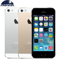 "Apple iPhone 5S Original Cell Phones Dual Core 4"" IPS Used Phone 8MP 1080P Smartphone GPS IOS iPhone5s Unlocked Mobile Phone 1"