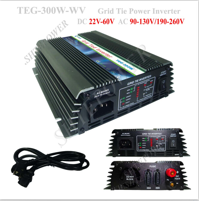 Strong adaptability stability grid tie solar 300w 240v home micro inverter asymptotic stability