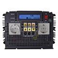 Meest Geavanceerde LCD Display 3500 W ZUIVERE SINUS OMVORMER 12VDC om 220VAC (7000 W PIEK) DC Naar AC outdoor home frequentie omvormer