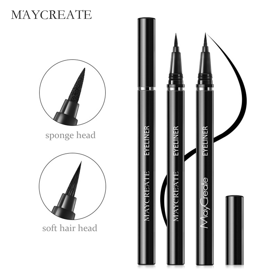 MayCreate Eye Shadow & Liner Combination Beauty Women Makeup Waterproof Long-lasting Pen Eye Makeup Eyeliner Pencil Liner