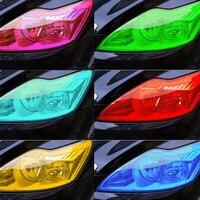 30cm/40cmx5m Car headlights Auto Car Light Headlight Taillight Vinyl Film Sticker Film Car Light Color change Wrap Film