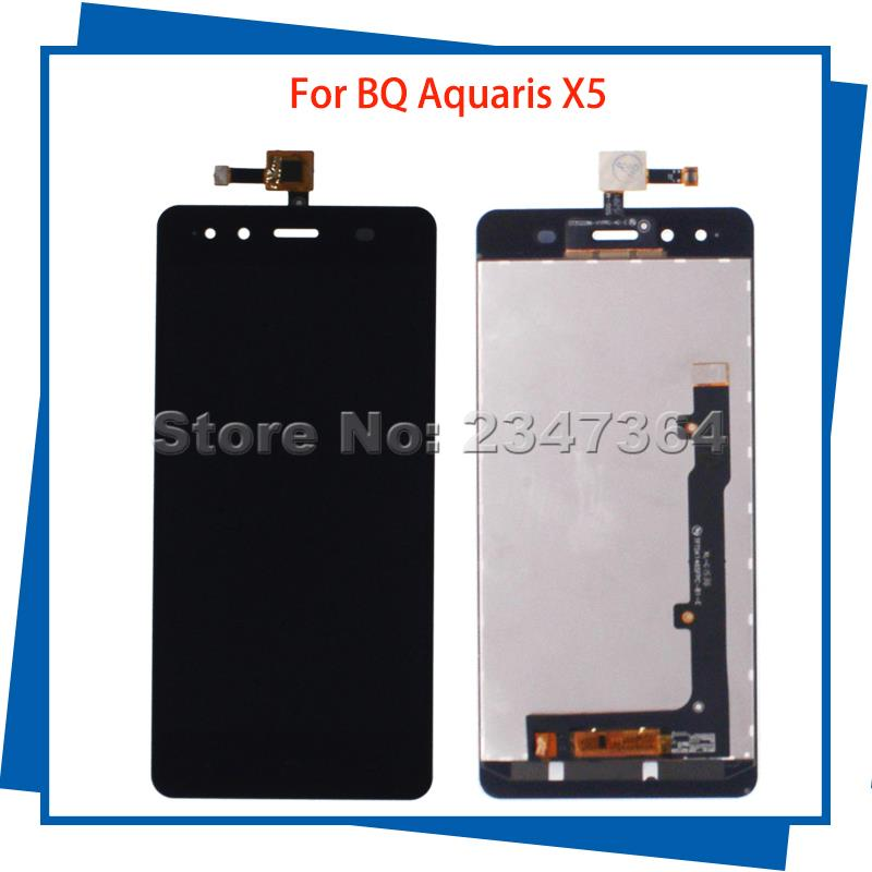For BQ Aquaris X5 FPC S90723 FPC 5K1645 Original LCD Display Touch Screen Digitizer Assembly 100