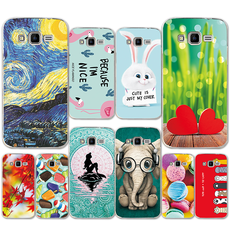 Half-wrapped Case For Samsung Galaxy Core Prime Bling Case Win 2 Duos Tv Sm-g360f Sm-g360h Sm-g361f Sm-g361h Glitter Liquid Quicksand Cute Cover Always Buy Good Phone Bags & Cases