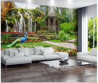 3d wallpaper Giardino cascate paesaggi foto murales carta da parati Decorazione Domestica wallpaper per pareti