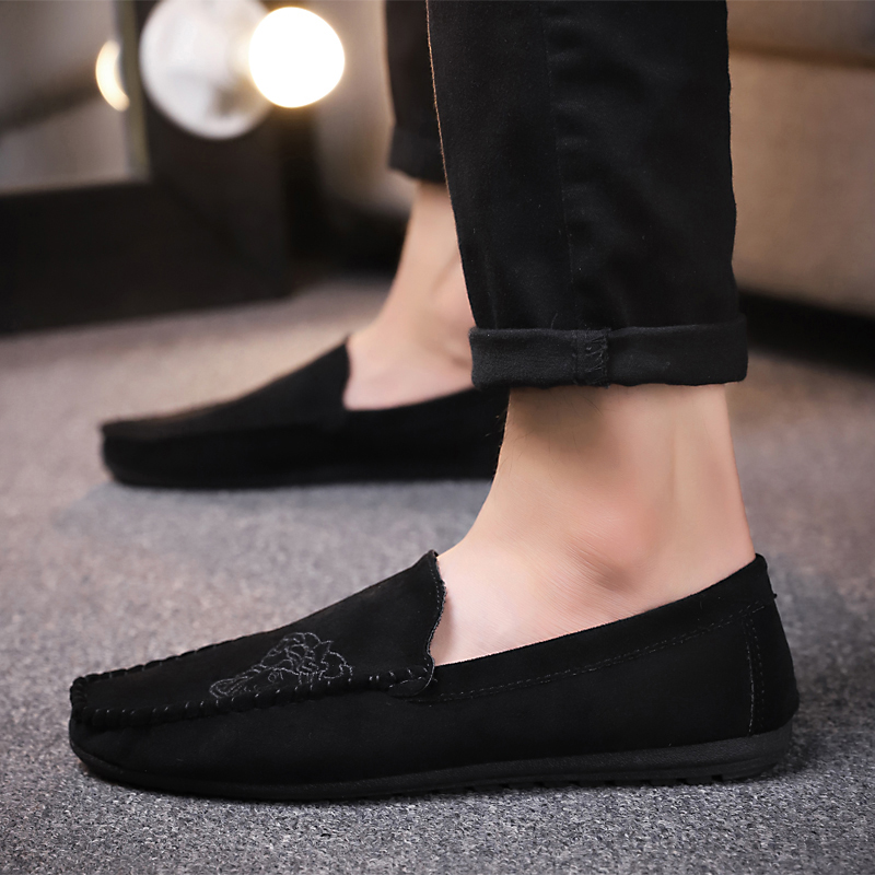 2018 Spring autumn Men 39 s Youth Fashion Shoes Edition Breathable Casual Shoes Men 39 s Driving Shoes Trend Set Foot Loafers Shoes 5 in Men 39 s Casual Shoes from Shoes