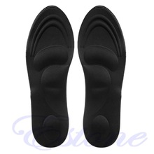 1Pair 3D Sponge Soft Insole Comfort High Heel Shoe Pad Pain Relief Insert Cushion