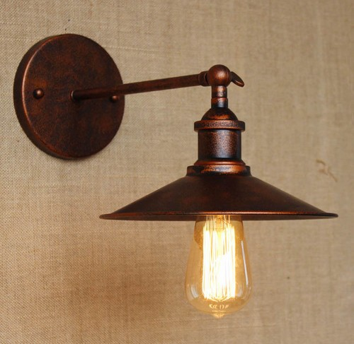 Nordic Edison Wall Sconce Retro Loft Style Industrial Vintage Wall Lamp Simple Art Wall Lights For Home Indoor Lighting retro loft style rope edison wall sconce vintage wall lamp antique industrial wall lights for home indoor lighting arandela