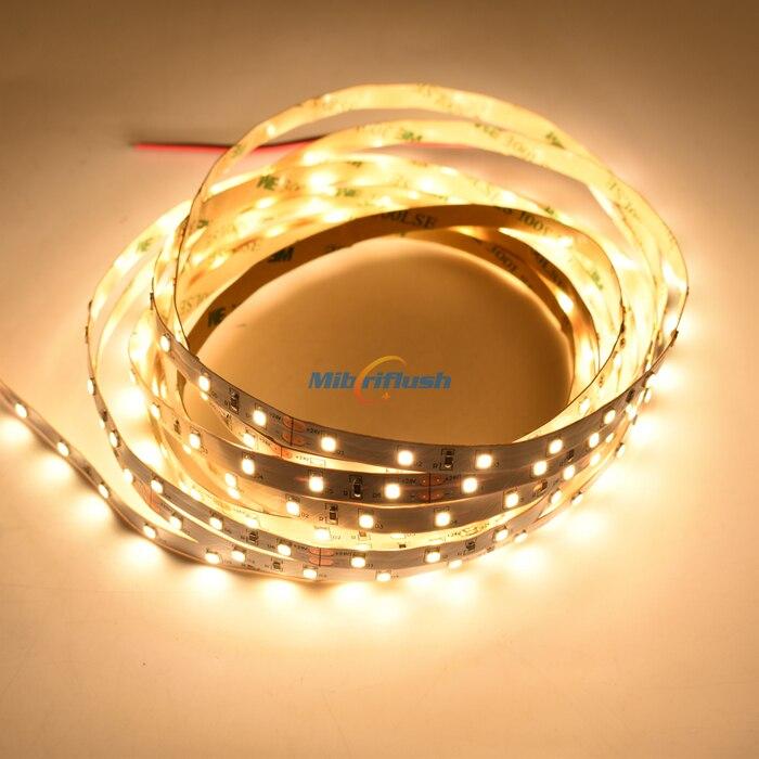 CRI95 CRI90 2835 LED Strip 12 24V 8MM PCB 12W/M 60LEDS/M Flexible led tape IP20 led lighting Decoration DHL Freeship 100M/lot