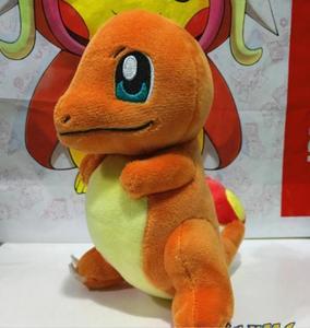 Новая Оригинальная плюшевая кукла Pokmon Bulbasaur Squirtle Charmander, набор игрушек 3 в подарок