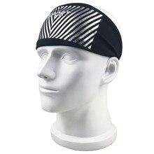 Спортивная повязка для головы для мужчин и женщин головная повязка в виде чалмы эластичная Йога повязка на голову для занятия бегом Противоскользящий Эластичный Напульсник 4 цвета