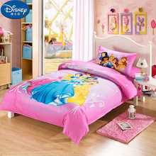 3Pcs Girl Princess Bedding Sets 100%Cotton bedding bag pillowcase sheet Mat cover Children bed Quilt Cover Gifts