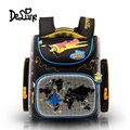 High quality 3D children cartoon school bag free doll students waterproof backpack boy small travel Stationery bags child gift