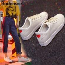 f32d6e168 Lago de constança 2018 Nova Primavera Verão Com Sapatos de Couro Liso Mulheres  Sapatos de Lona Branca Feminino Branco Sapatas da.