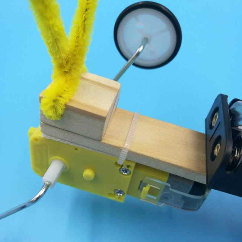 DIY 木製リモコン電気ロボット爬虫類モデル子供の科学実験のおもちゃクール発明子供のおもちゃ