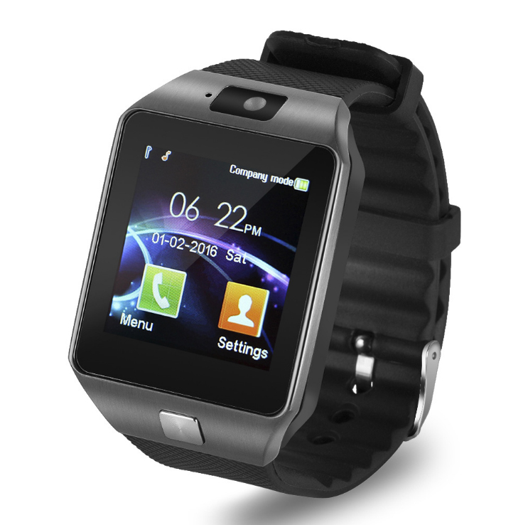 WEDIO DZ09 Bluetooth Smart Watch With Sensitive Touch Screen Sport Wristwatch With Box for Mobile Phone Support SIM/TF Card