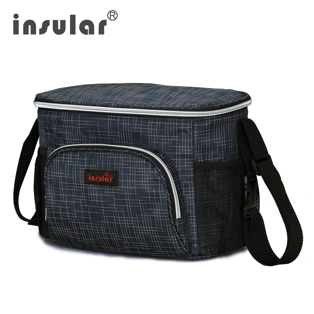 2017 New Style Insular Waterproof Baby Diaper Bag Messenger Mommy Bag Thermal Insulation Stroller Bags Shipping