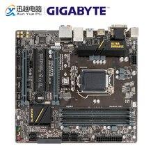 ギガバイト GA B150M D3H デスクトップマザーボード B150M D3H B150 LGA 1151 コア i7 i5 i3 DDR4 64 グラム SATA3 USB3.0 DVI 、 VGA 、 HDMI m.2 マイクロ ATX