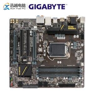 Image 1 - Gigabyte GA B150M D3H B150M D3H B150 Desktop Motherboard LGA 1151 Core i7 i5 i3 DDR4 64G SATA3 USB3.0 M.2 Micro ATX DVI VGA HDMI
