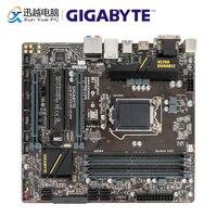 Gigabyte GA B150M D3H placa base de escritorio B150M D3H B150 LGA 1151 Core i7 i5 i3 DDR4 64G SATA3 USB3.0 DVI VGA HDMI M.2 Micro ATX|Placas base| |  -