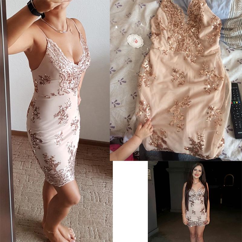 HTB1gukbRFXXXXX1XXXXq6xXFXXXm - Womens Gold Black Sequin Dress JKP203