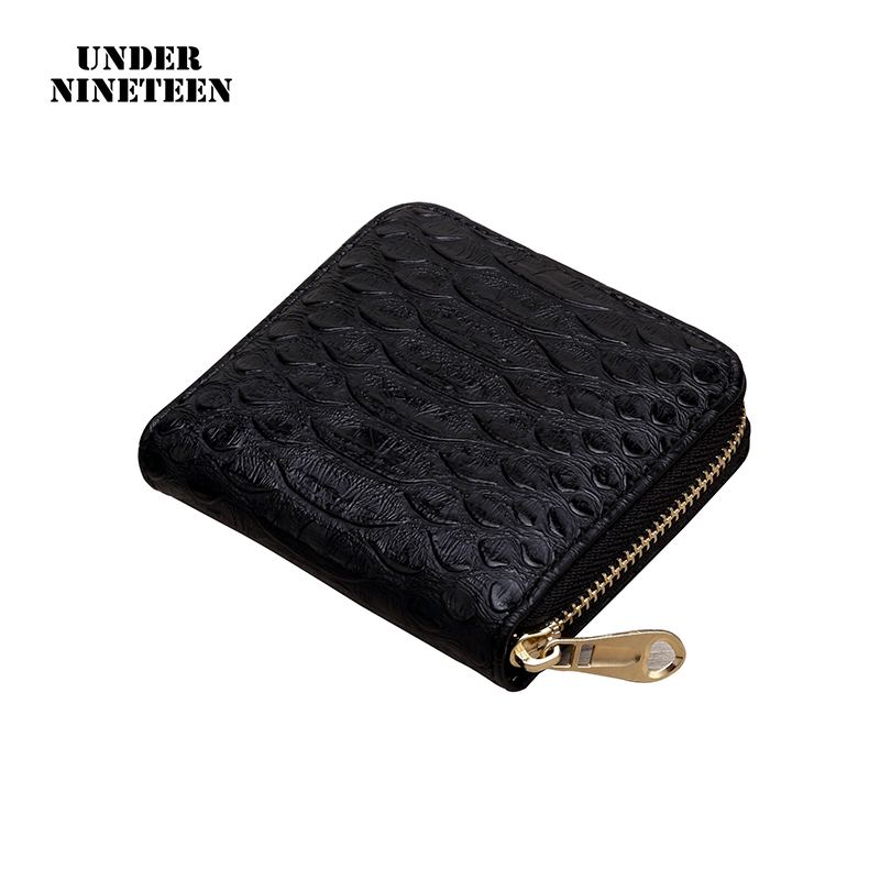 Under Nineteen Wallets Women Fashion Vintage Small Wallet Leather Purse Female Money Bag Small Zipper Coin Purse Wholesale Gifts цена