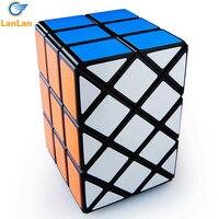 Diansheng Long Brick Case 3x3x3 Magic Cube Diansheng 3x3x3 Ancient Double Fish Cube Black