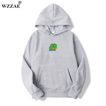 2018 Men/Women Sad Frog Print Sportswear...