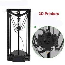 100-240 В 3d DIY принтер инъекции версия delta параллельного плеча шкив версия с теплой постели и большой мощность 360 Вт 20-100 мм/сек.