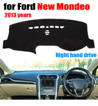 FUWAYDA Car dashboard covers mat for Ford New Mondeo 2013 years Right hand drive dashmat pad dash cover auto dashboard stickers