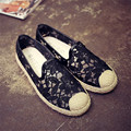 Mrs win Women Fashion Loafers Casual Shoes Lace Embroidery Flats Chaussure Femme Ladies Sapatos Scarpe Donna