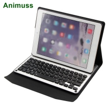 Animuss CE ROHS FCC Smart PU Leather Case Backlit Wireless Bluetooth Keyboard For iPad Pro 10.5 цены