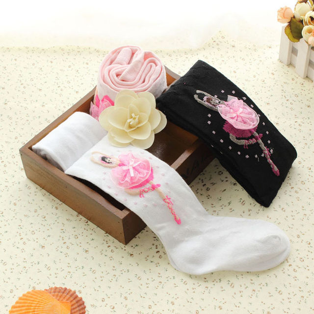 65d01392960da 1Pc Fashion Kids Children Ballet Girls Panty-hose Tights Sweet Lady  Stockings Clothes 3 Summer Styles