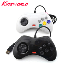 PC MAC ONLY USB classic Wired game Controller Gamepad JoyPad Joystick Not For Sega for Saturn Style