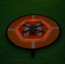 D80cm Drone datterrissage tapis de stationnement rapide pli tablier pour DJI Phantom 2 3 4 Mavic Pro Air Mini Inspire 1 quadrirotor RC Gadget de course